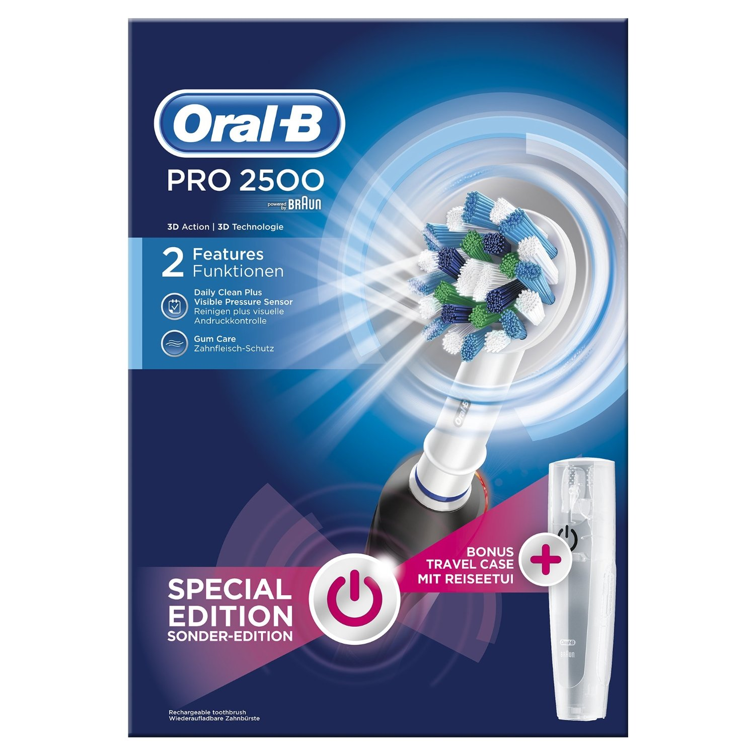 Oral B Pro 2500 Crossaction Cepillos De Dientes Eléctricos