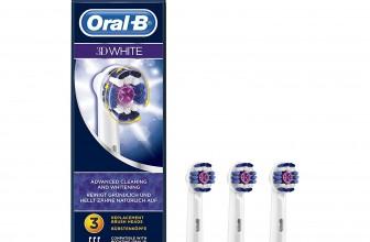 Oral-B 3D White – Cabezal de recambio, 3 unidades