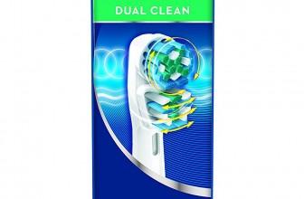 Oral-B Dual Clean EB417 – Cabezal de recambio, 3 unidades