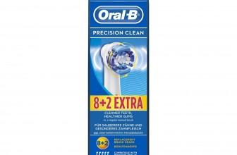 Oral-B Precision Clean – Cabezal de recambio, 8 + 2 unidades